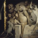 Gabriel_Cornelius_von_Max,_1840-1915,_Monkeys_as_Judges_of_Art,_1889